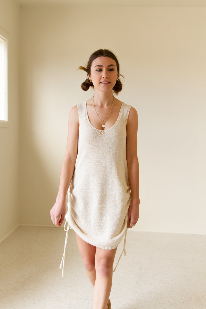 Want You Sleeveless Knit Dress