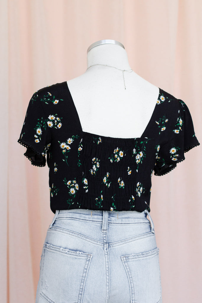 Leave Your Worries Floral Top