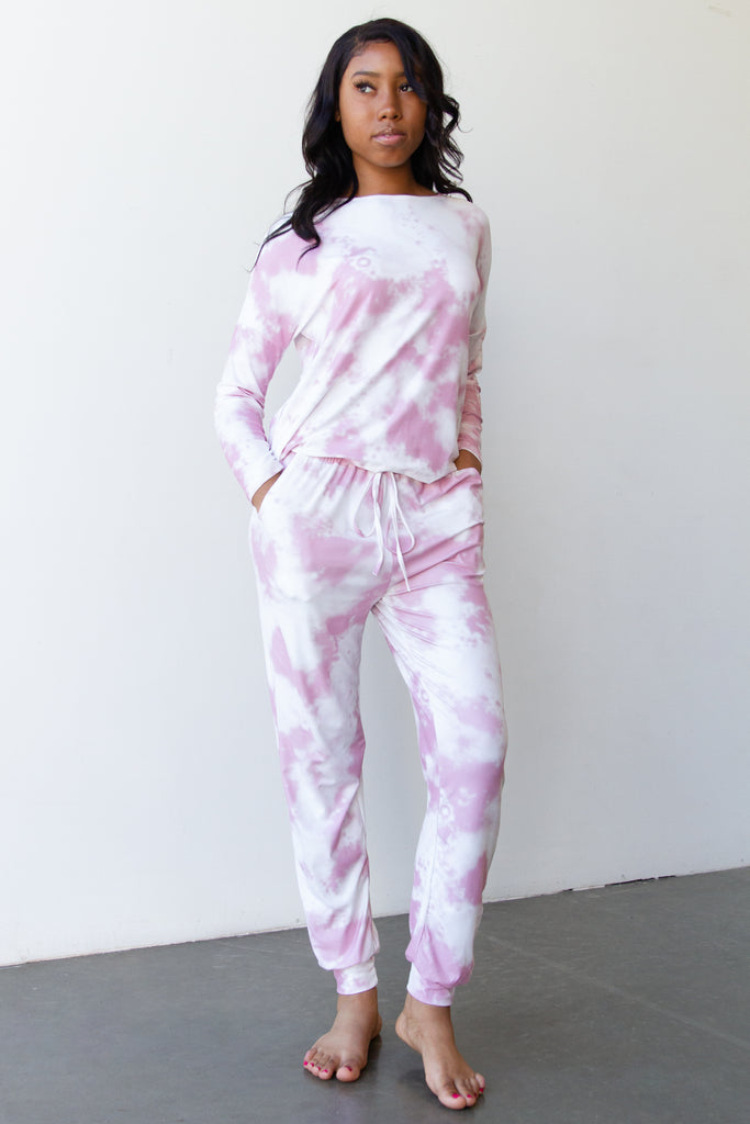 This Way Tie Dye Pants By For Good