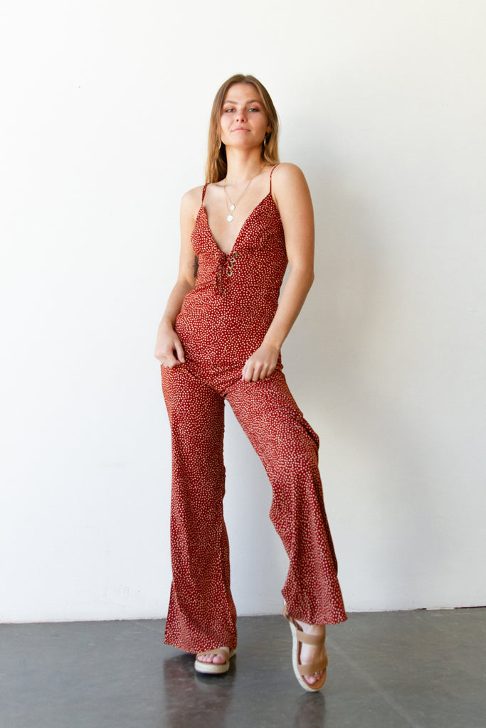 Over Now Cami Jumpsuit
