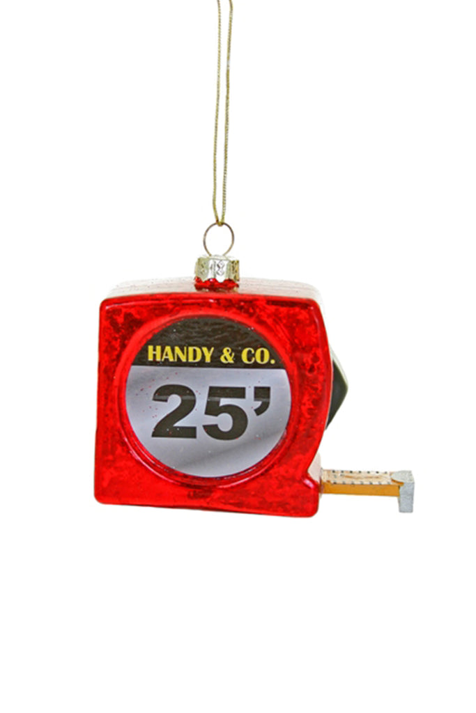 tape measure ornament