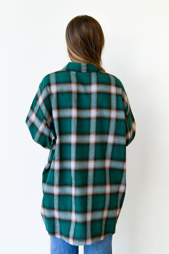 Wishing Well Flannel Top