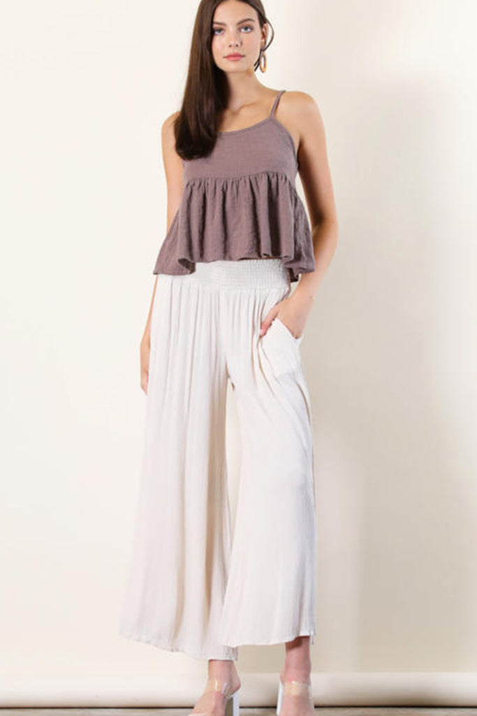 Natural Flowy Pants