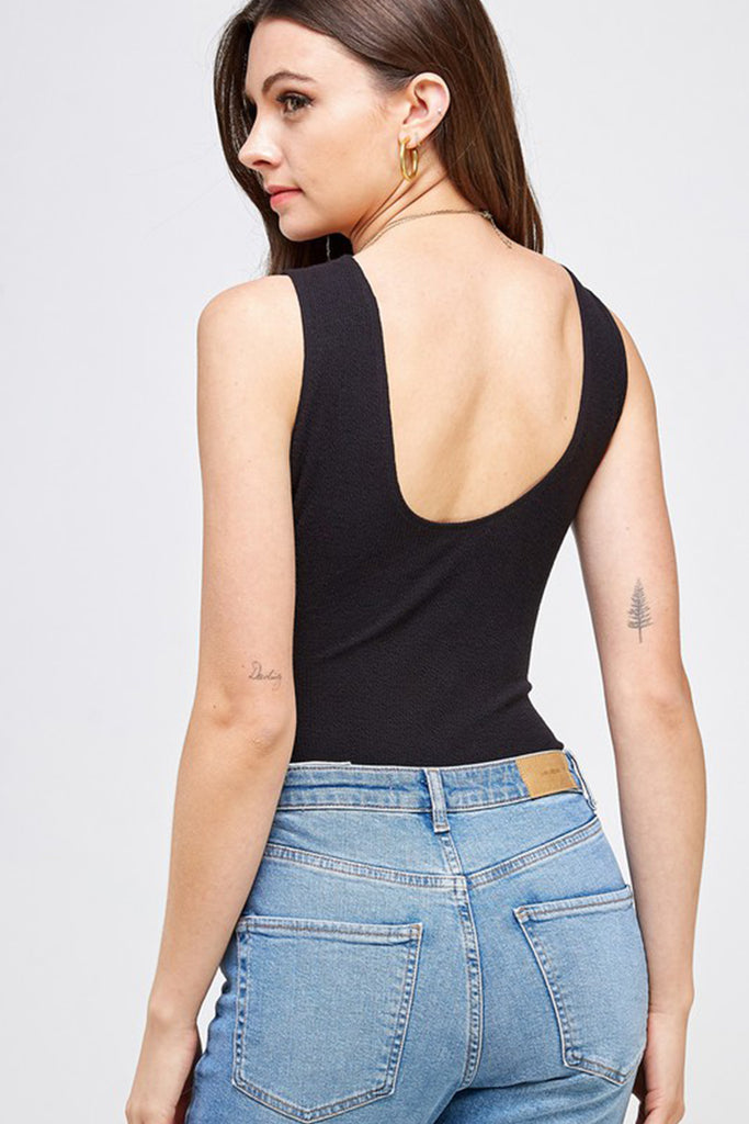 Good Impression Sleeveless Bodysuit