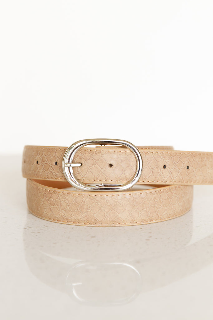 Give Grace Faux Leather Belt