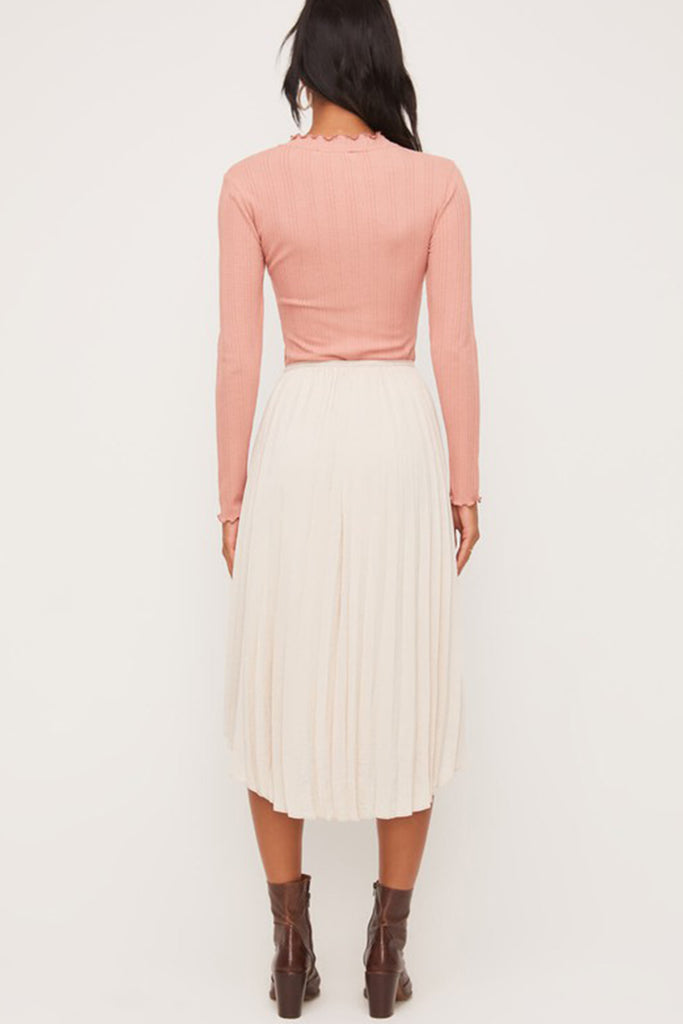 Made For Walking Midi Skirt By For Good