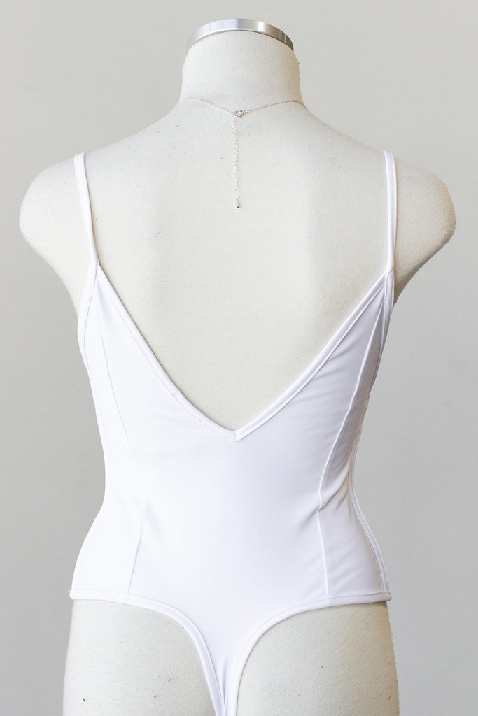 White Cami Bodysuit