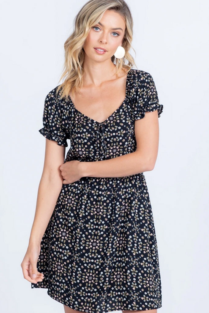 Best of Friends Floral Mini Dress