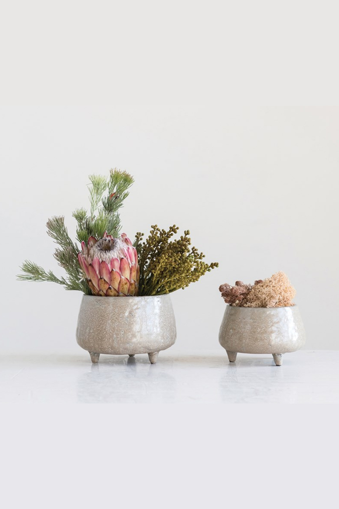 Stoneware Ceramic Planter By For Good