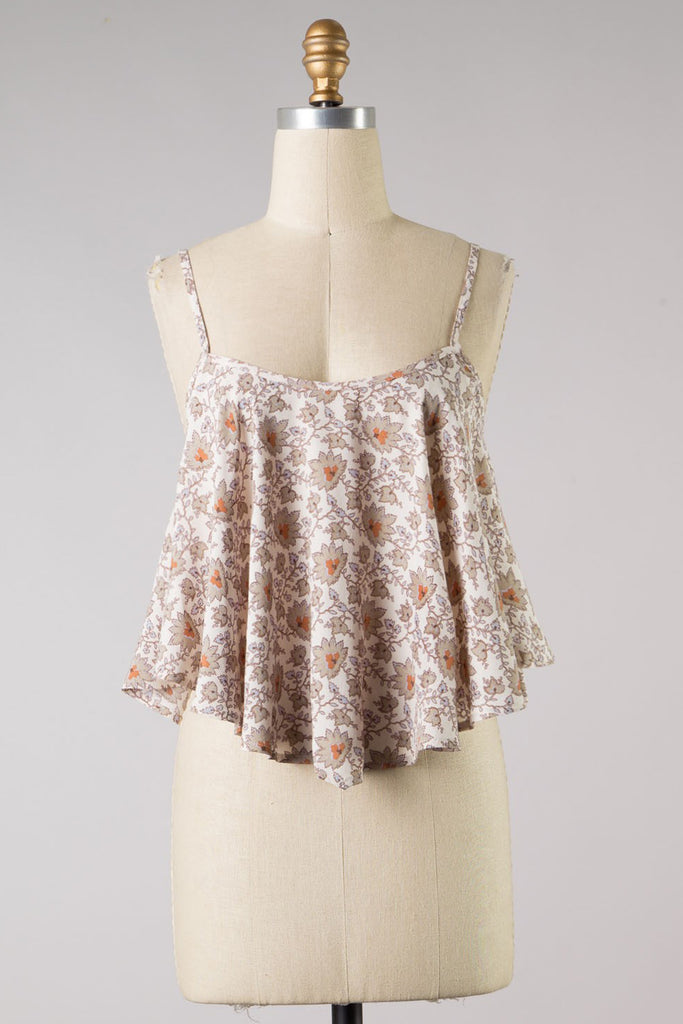 Blinding Lights Floral Cami Top