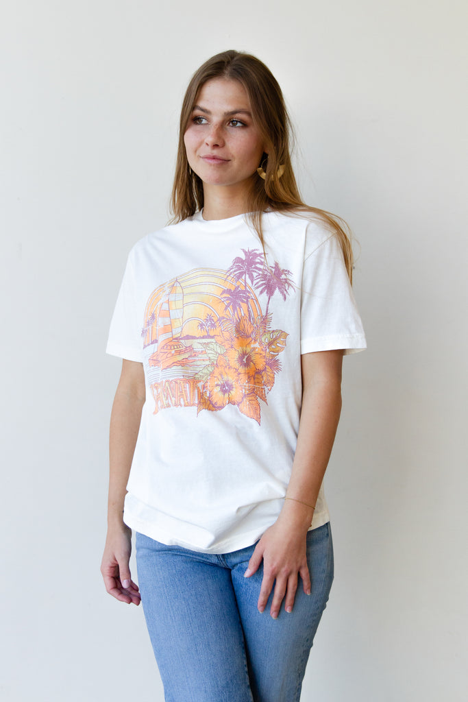 Sailing Hawaii Graphic Tee