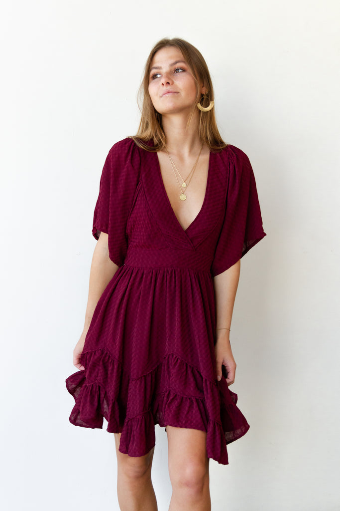 Halo Ruffled Dress By For Good