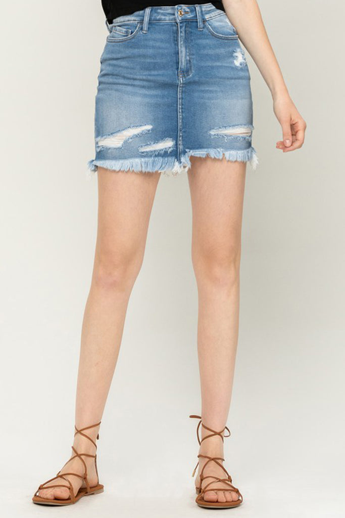 Place To Hide Denim Skirt