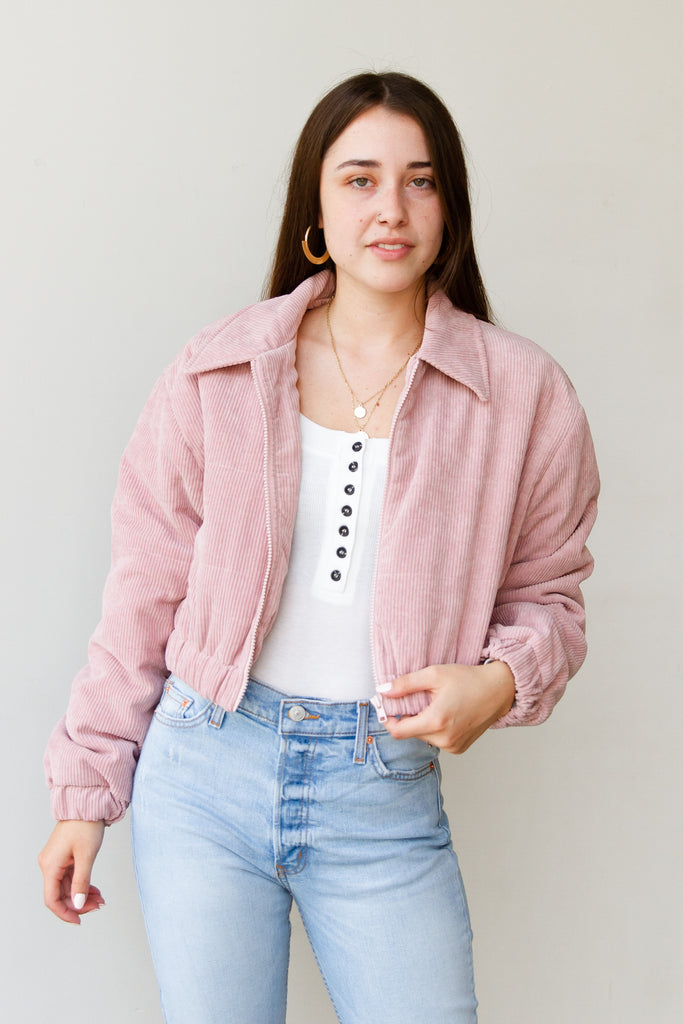 Worry Less Cropped Jacket