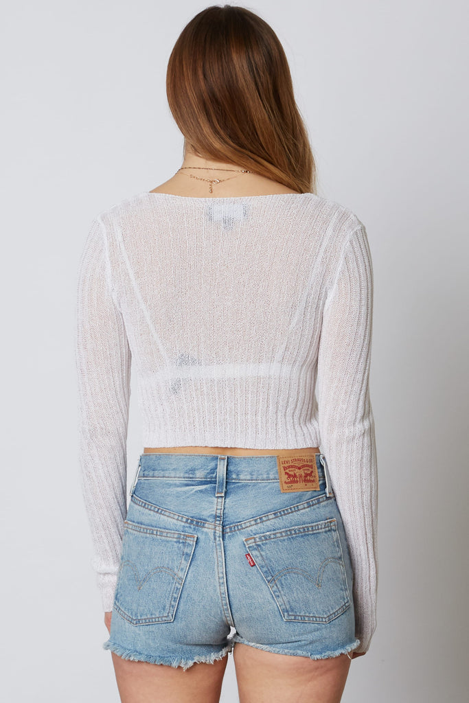Too Much To Ask Crop Cardigan