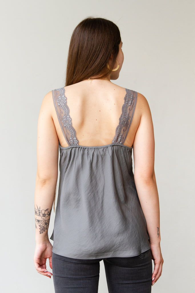 Seize The Day Lace Tank Top