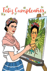 Frida Greeting Card by The Found