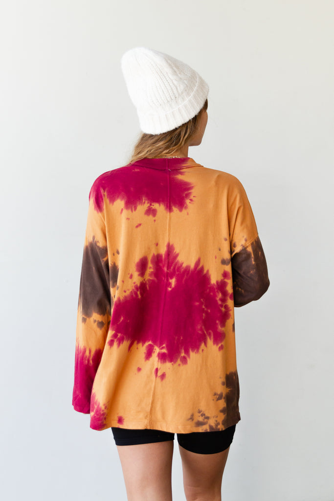 Happy Anywhere Tie Dye Top By Free People