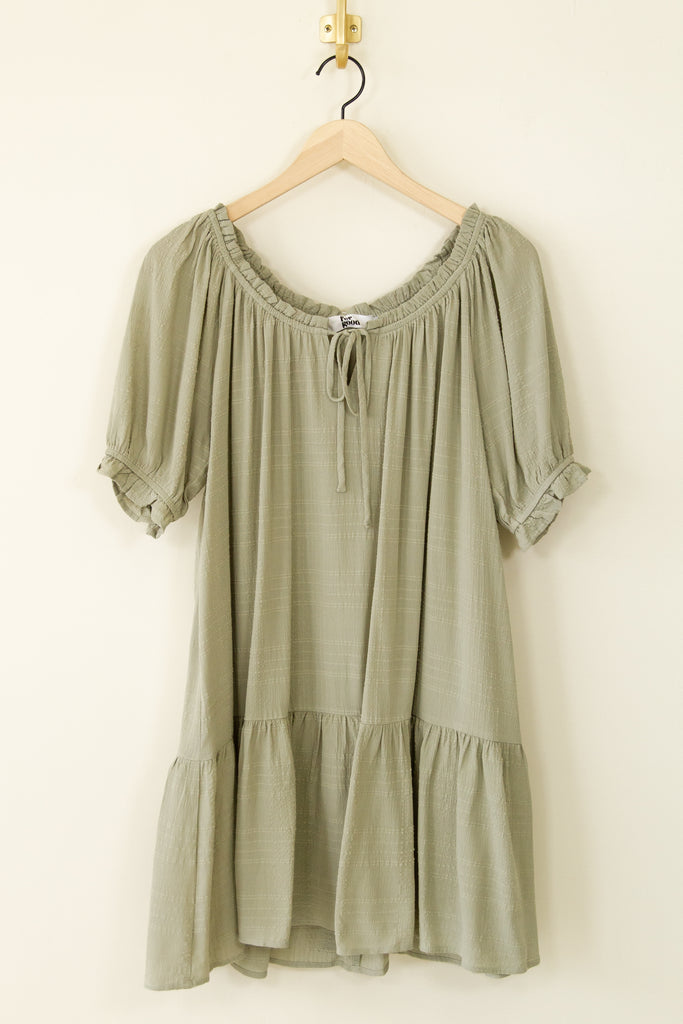 Forever Free Babydoll Dress by For Good