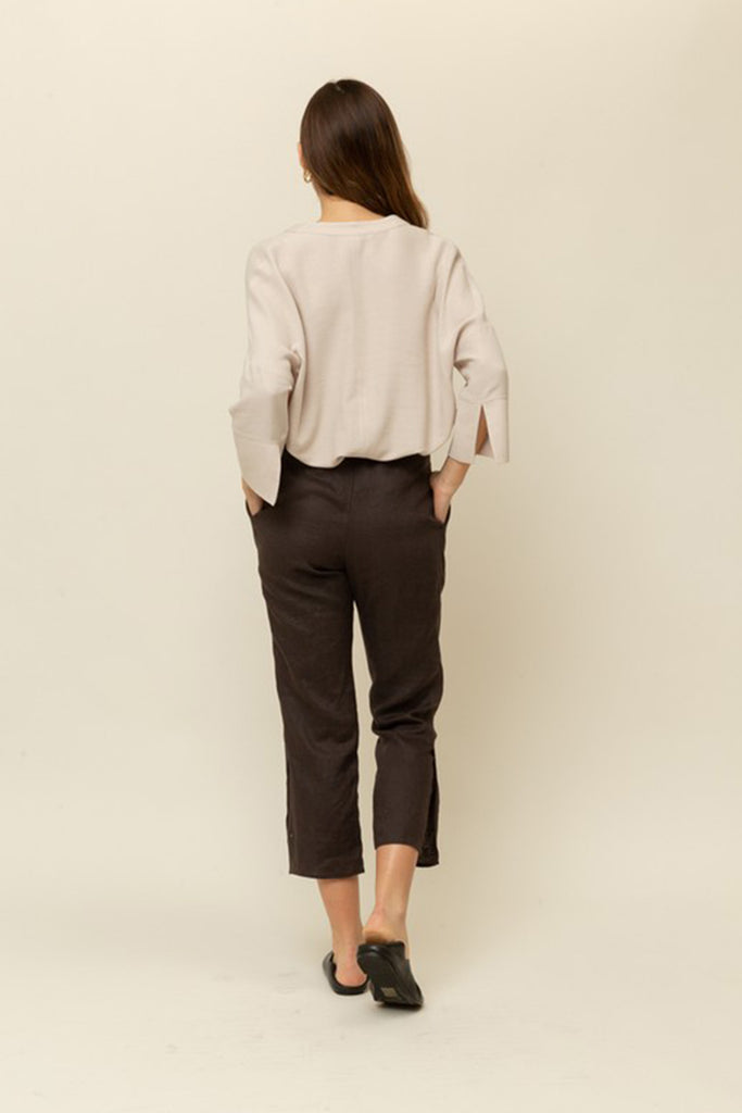 Paint The Night Linen Pants by For Good