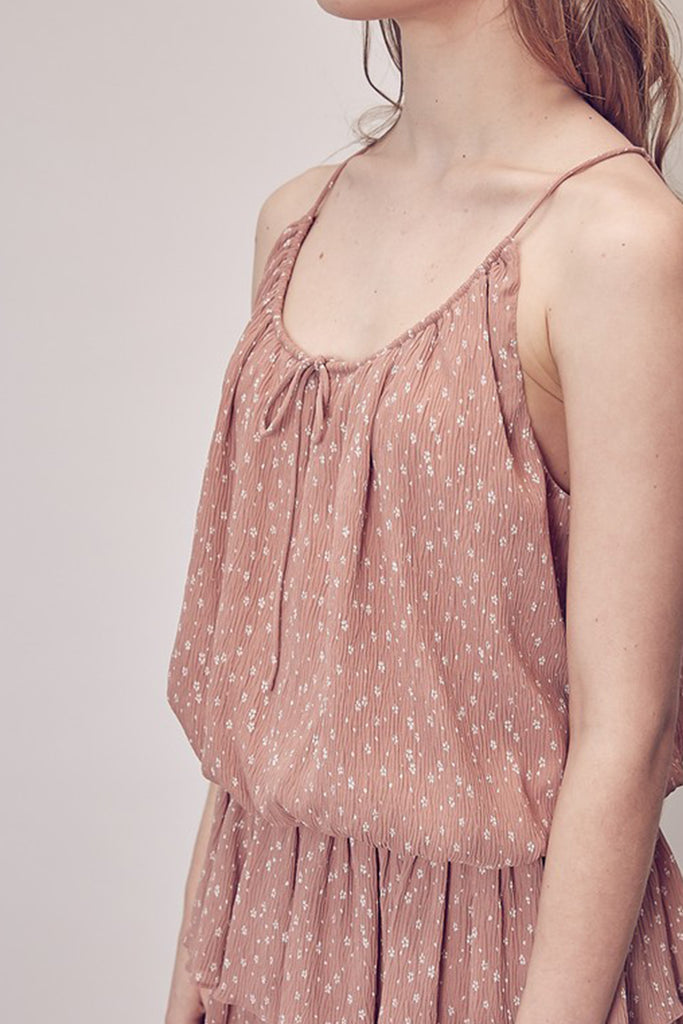 Clay Floral Cami Top