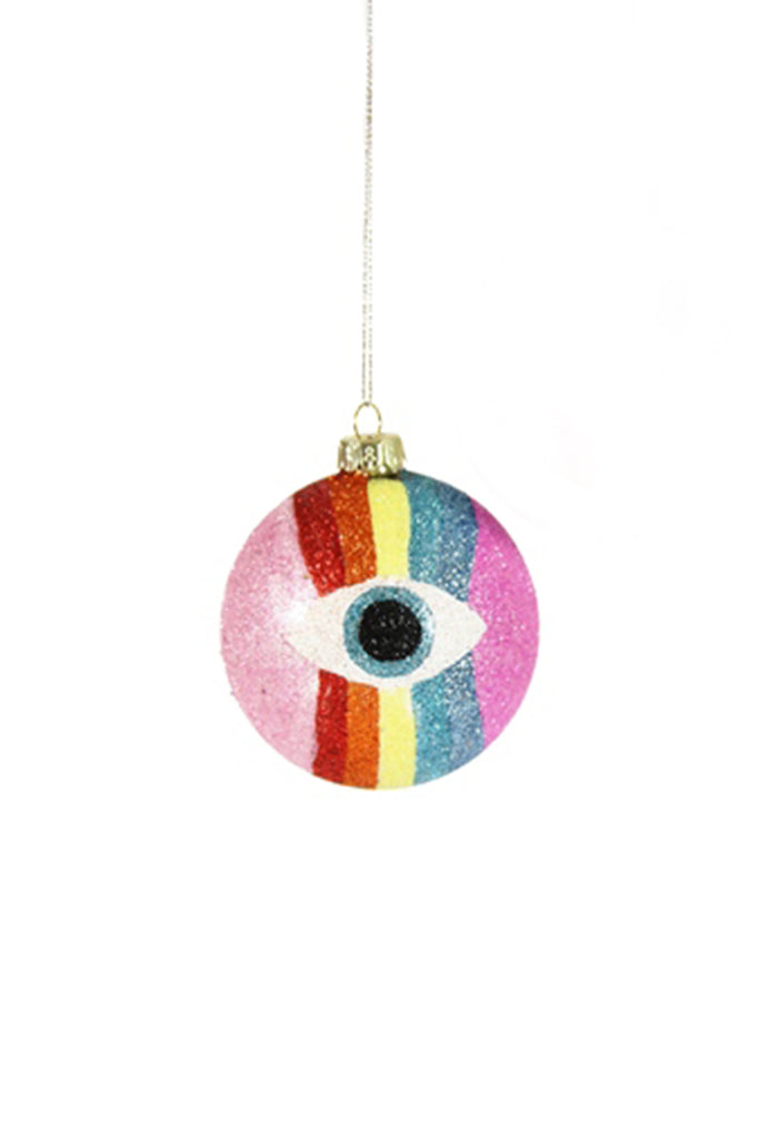 spectrum eyeball ornament
