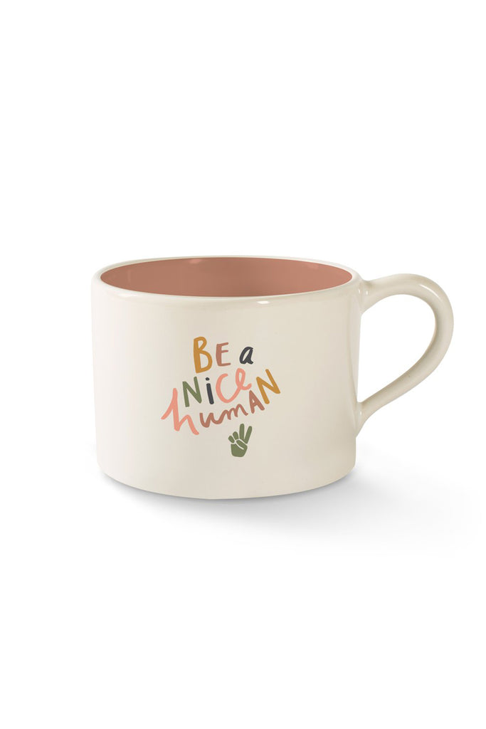 Nice Human Mug by For Good
