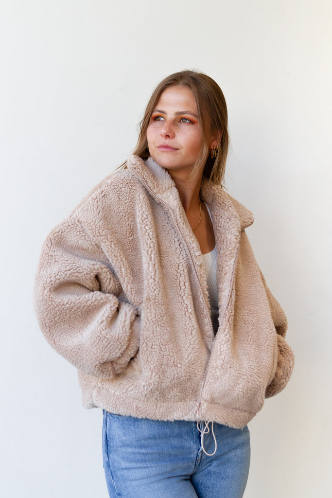 The Heartland Sherpa Jacket