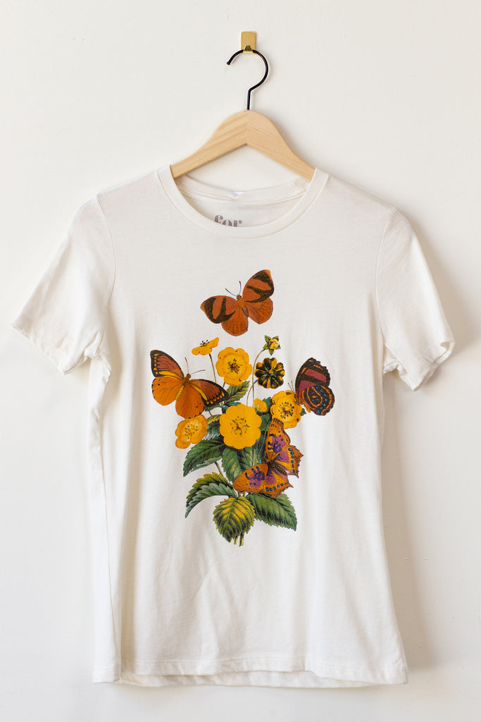 Vintage Butterfly Graphic Tee