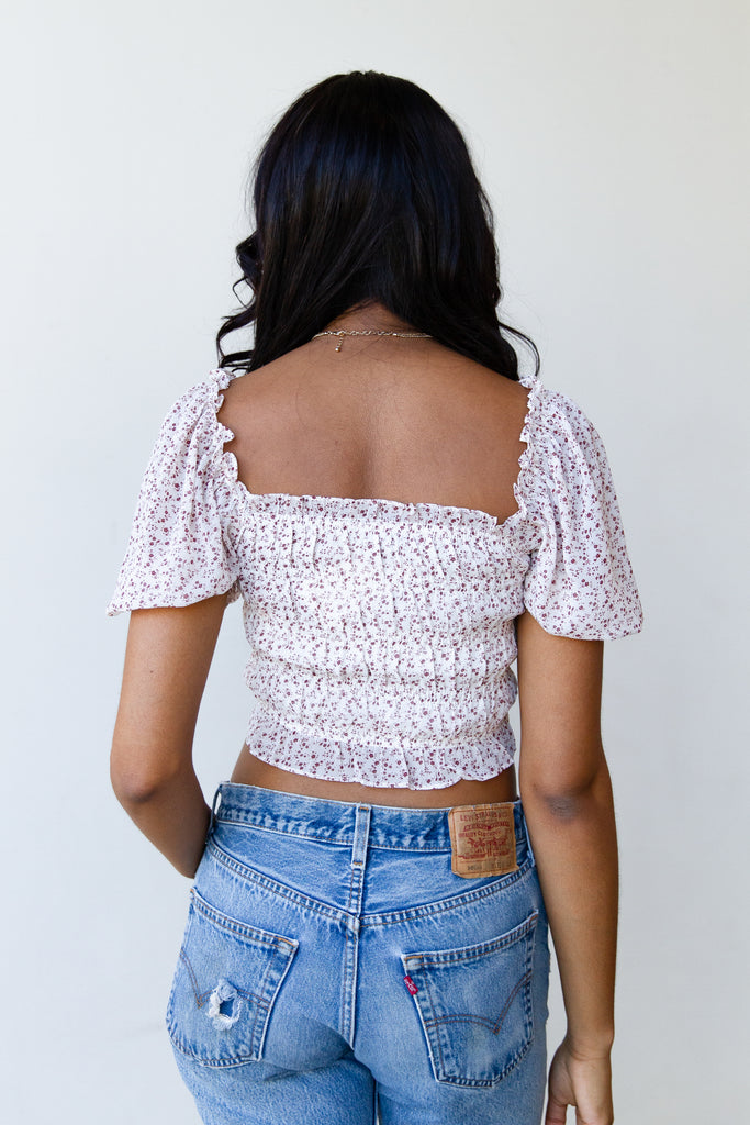 Long Story Floral Top