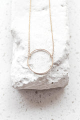 The Westley Circle Necklace