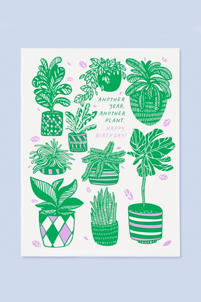 another plant greeting card