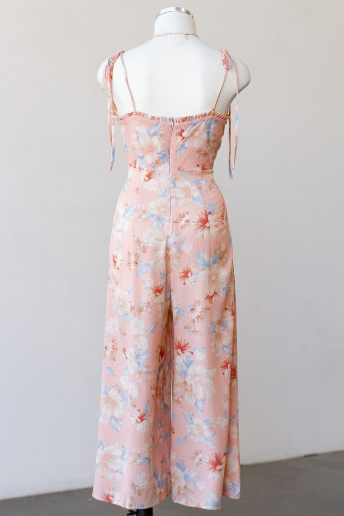 Be My Baby Floral Jumpsuit