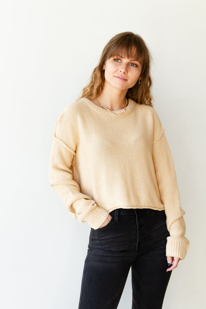 Intentions Knit Sweater