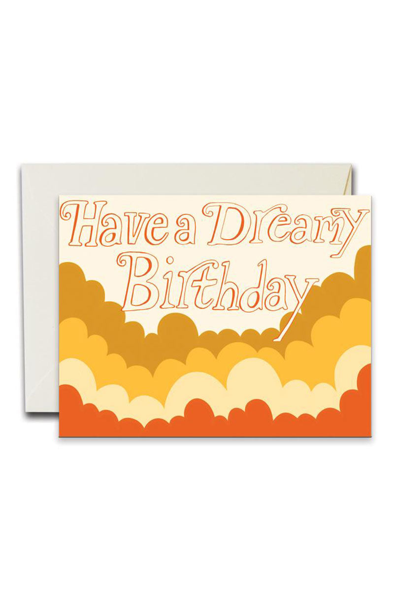 Dreamy Birthday Greeting Card by For Good