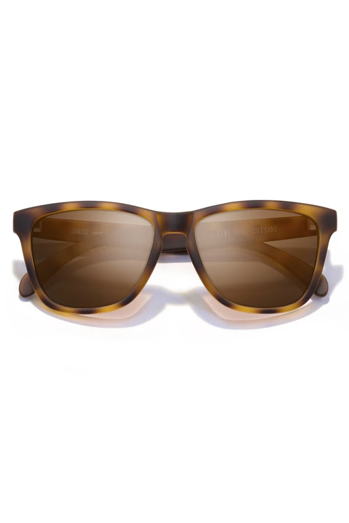 Madrona Tortoise Brown Sunglasses by Sunski