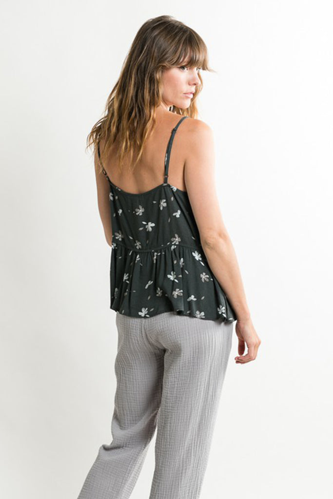 Venture Out Floral Cami Top by For Good