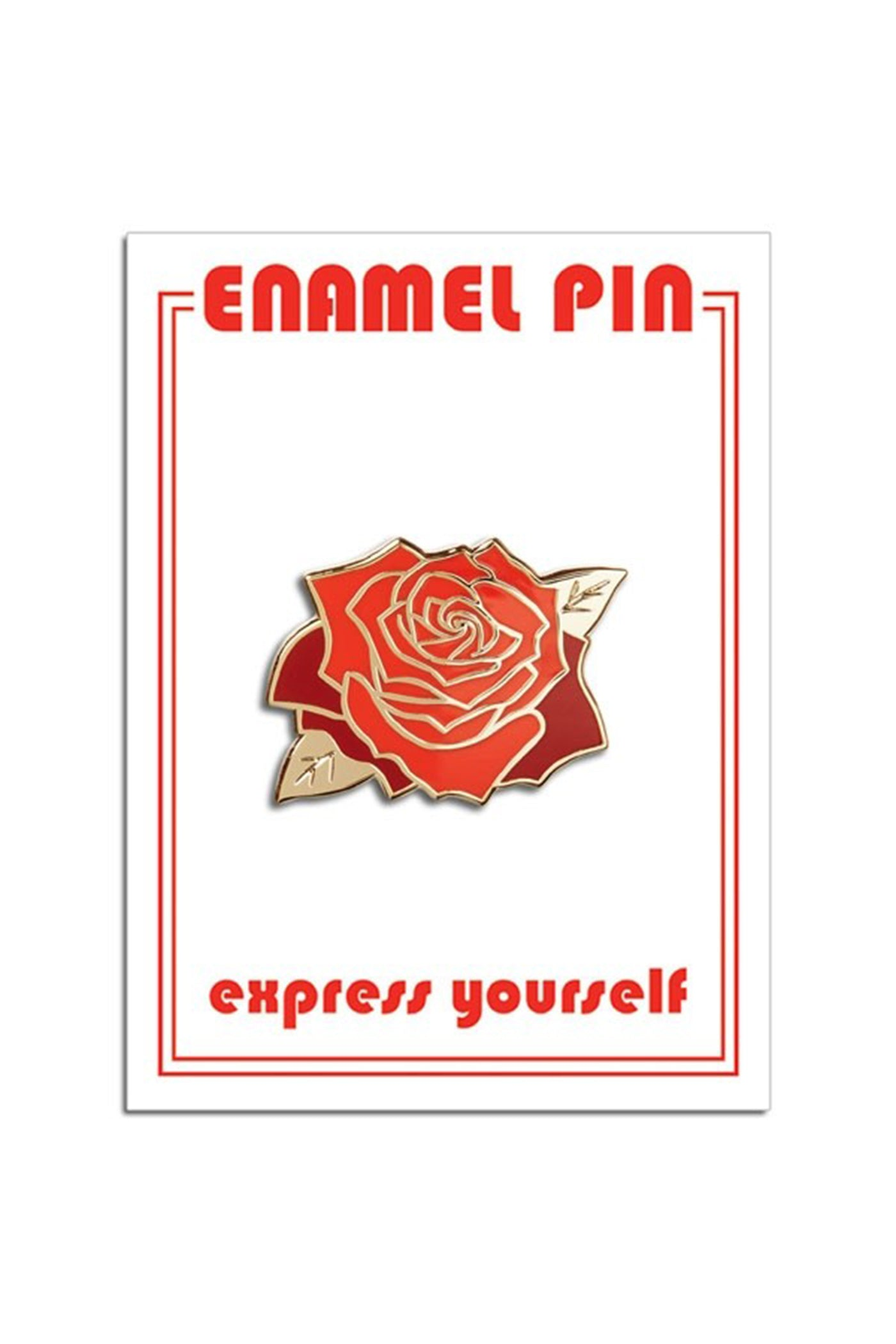 The Rose Pin by For Good