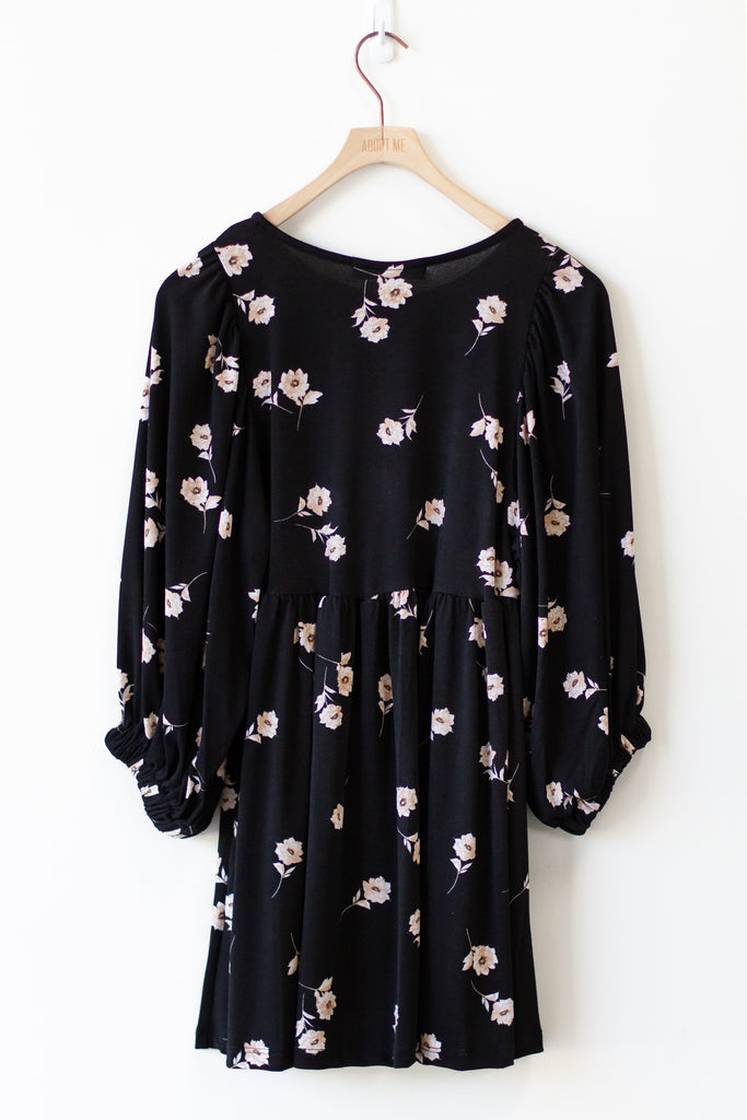 Something Big Floral Babydoll Dress