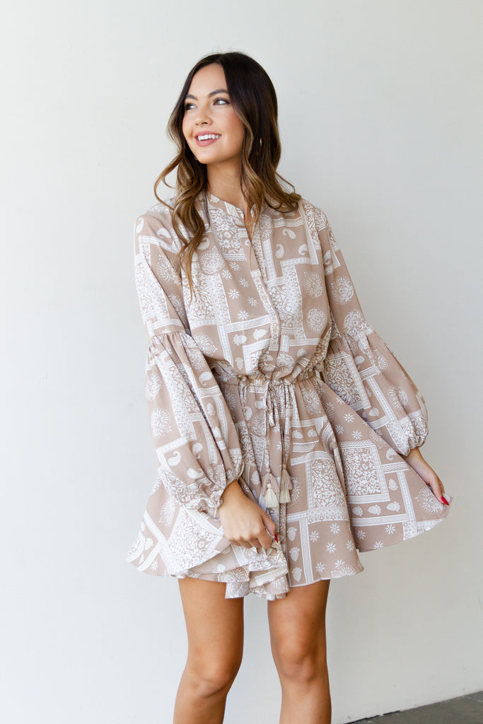 About You Flowy Dress By For Good