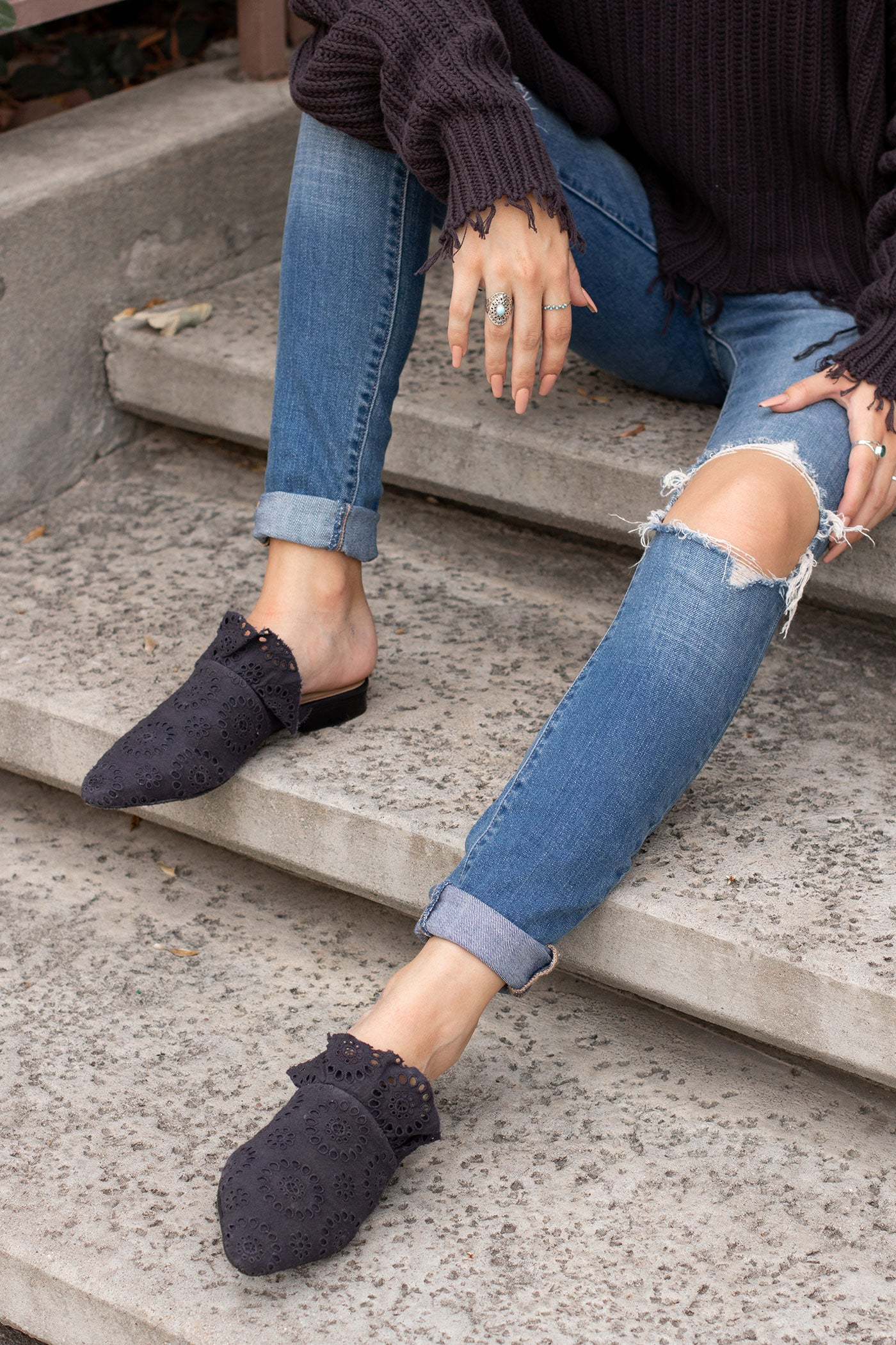 Not A Love Story Flats by Free People