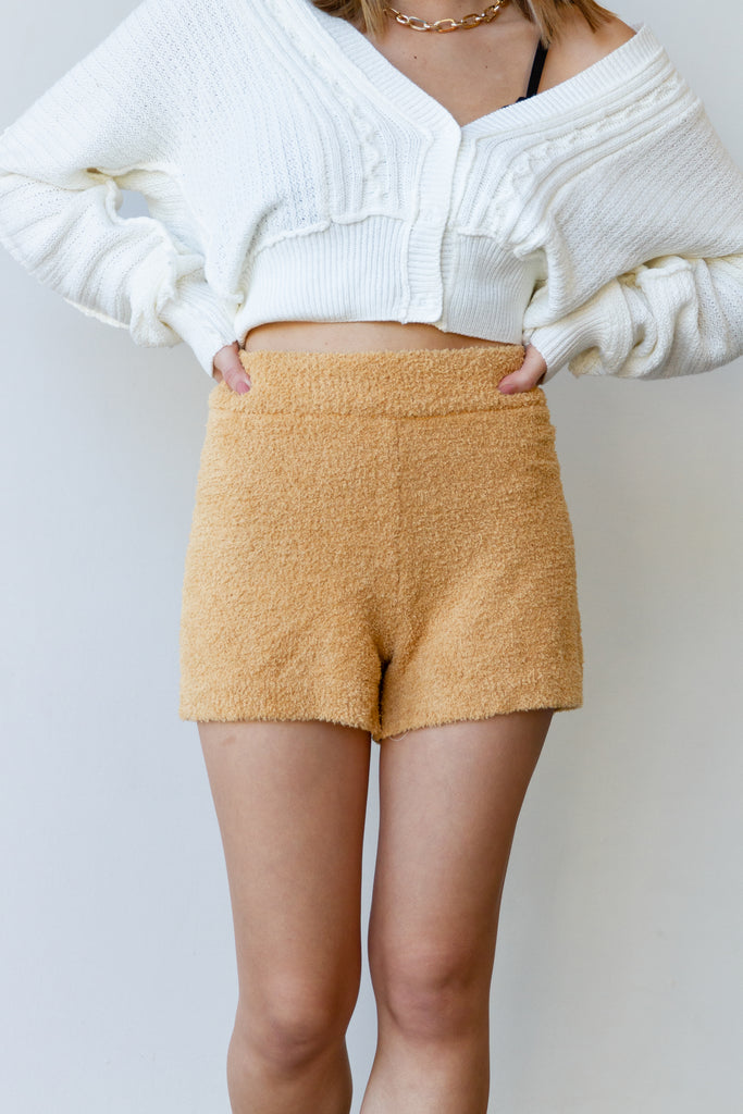 Venture Out Fuzzy Shorts