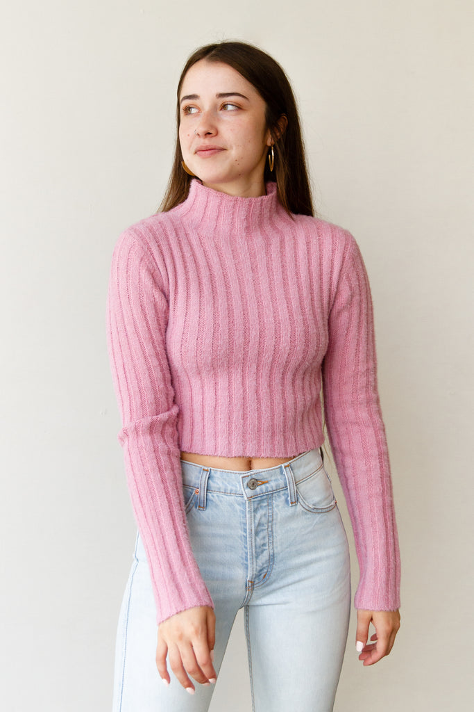 Never Settle Fuzzy Sweater