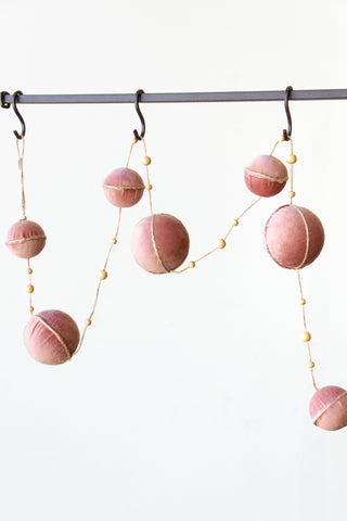 Velvet Ball Garland by For Good