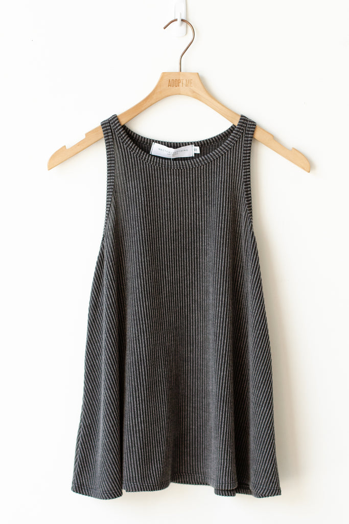 Everything Counts Ribbed Tank Top