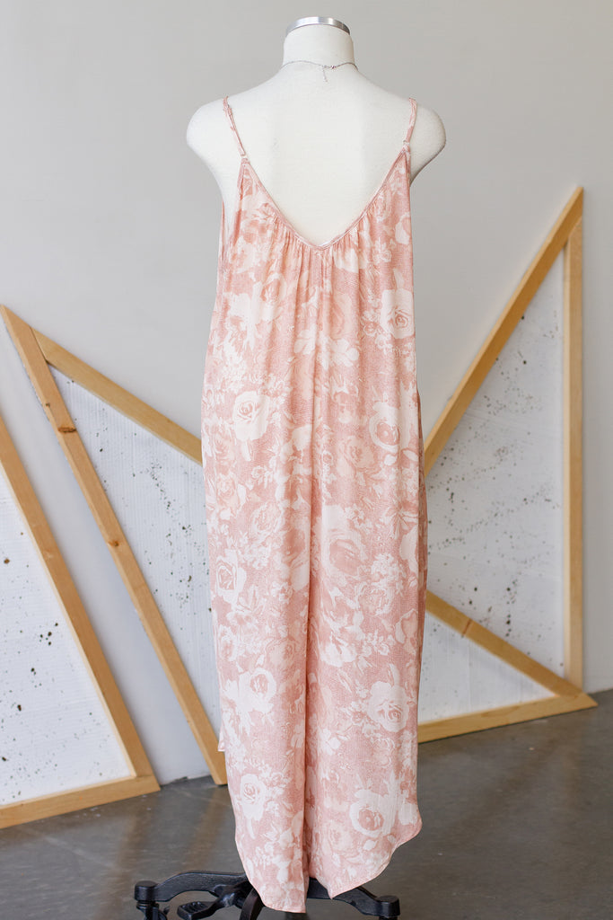 Blush Floral Jumpsuit