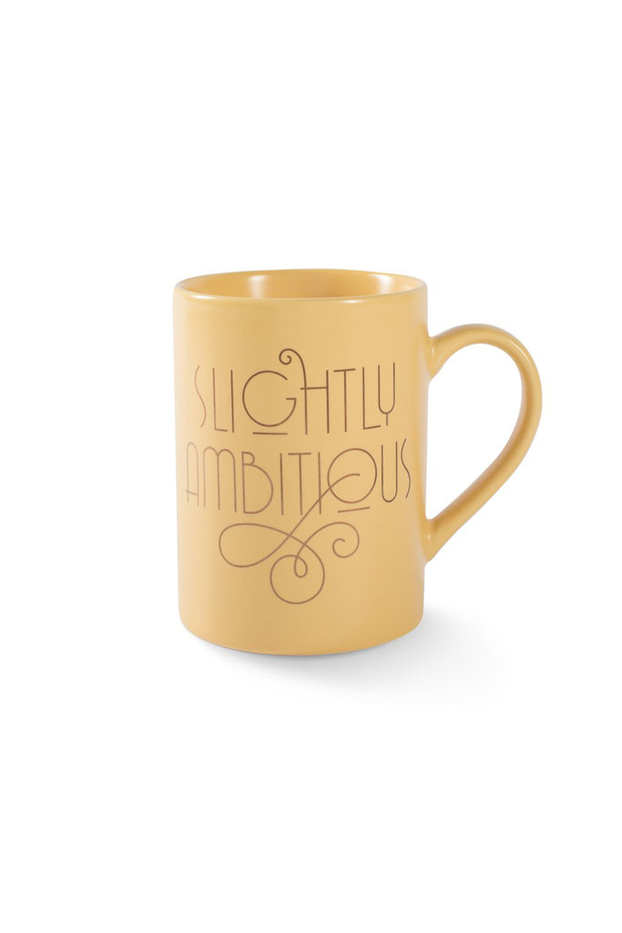 Slightly Ambitous Mug by For Good