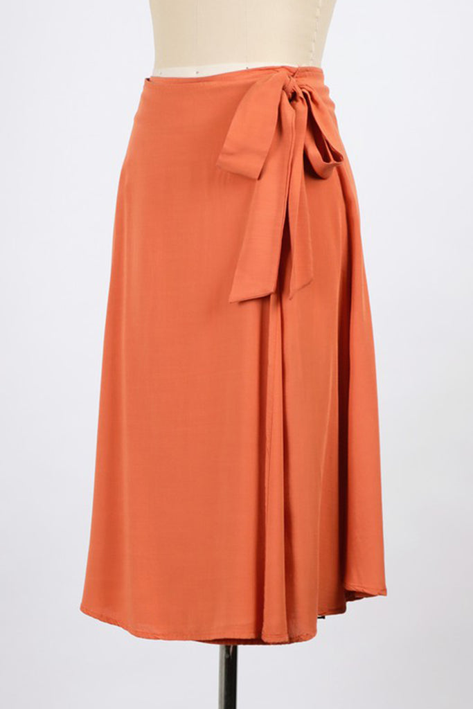 Ready Or Not Midi Skirt by For Good