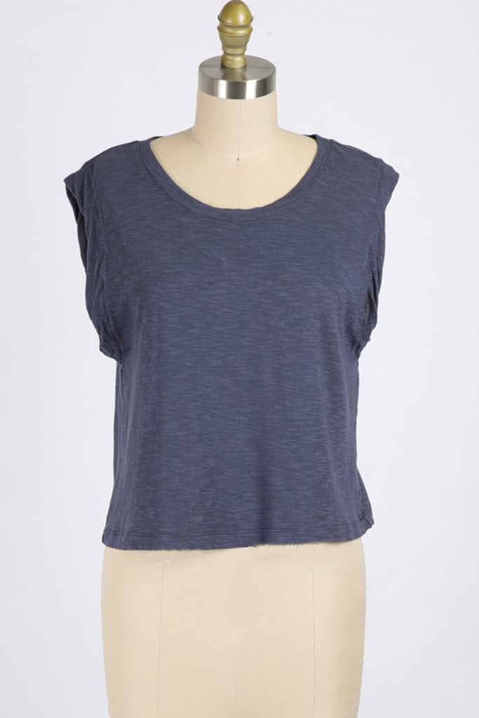 Slow Down Short Sleeve Top