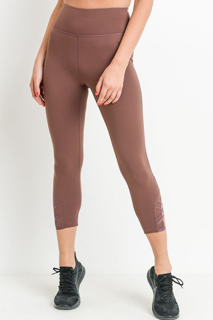 Better Off In love Capri Leggings by For Good